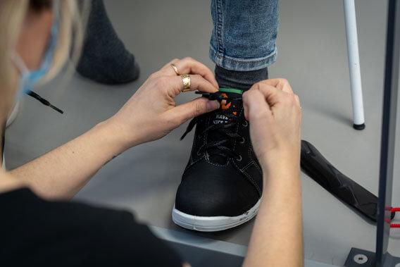 Werkschoenen veilig